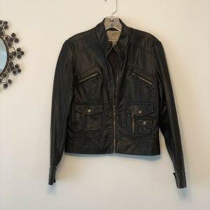 American Rag Cie Womens Motorcycle Jacket